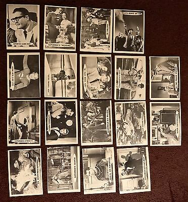 Vintage Superman Cards 1965 Lot Excellent - Near Mint Condition