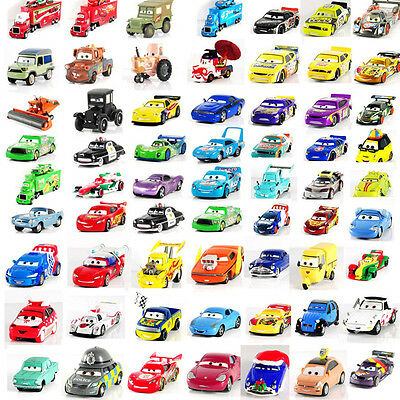 Disney Pixar Cars McQueen Hudson Mater Fillmore Sally Sarge 1:55 Autos Sally Toy