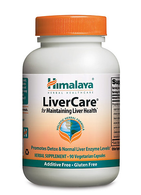 Himalaya Herbal Healthcare LiverCare/Liv.52, Liver Support, 90 Vcaps