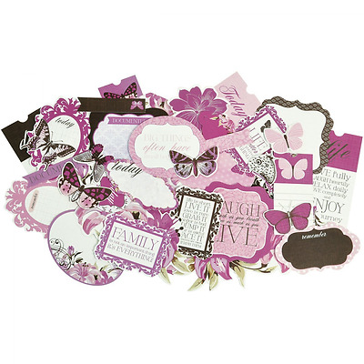 Kaisercraft CT782 Violet Crush Die Cuts Collectables Cardstock