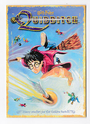 HARRY POTTER  carte postale n° PC0404 EDITEE EN 2001 QUIDDITCH