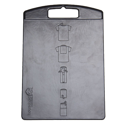 Household Essentials 195 Shirt Folding Board for Laundry - Folds T-shirts, Polos