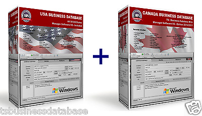 US CANADA BUSINESS DATABASE 16 Million+Manager Software | Business-DataBase.Info