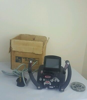 Vintage Consul Super 8mm film editing . 240 volts. 6V10W  Made in Japan .