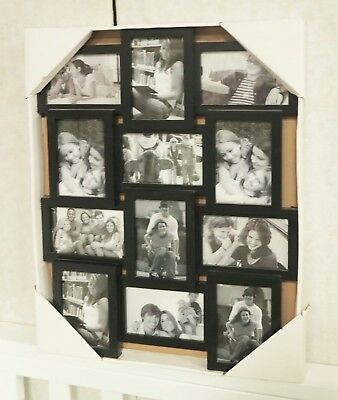 Q10 photo picture frame wall art colletion decor frames gift present white