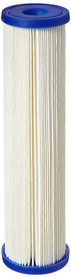Pentek ECP20-10 Pleated Cellulose Polyester Filter Cartridge, 9-3/4x2-5/8-Inch,