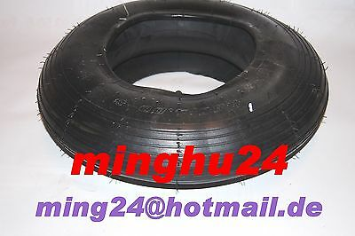 Tyres 4.00-4 + Tube 4.00-4 Wagons Tyres 300x100 Tyres 400-4 Fine Groove GV