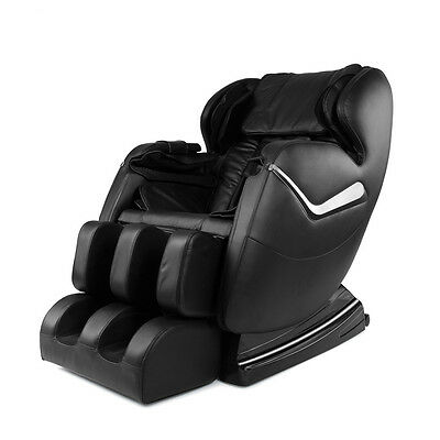 NEW Electric Full Body Shiatsu Zero Gravity Massage Chair Stretched Foot Rest