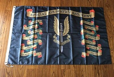 SAS Battle Honours Special Air Service  Flag Souvenir 3X5FT