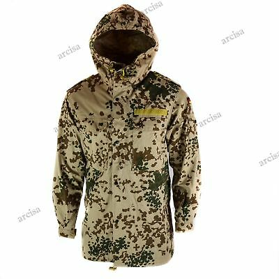 Original German army field parka BW Army issue Tropentarn combat hooded jacket