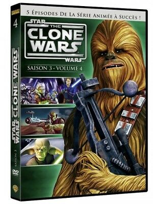 Star wars The clone wars saison 3 volume 4 DVD NEUF SOUS BLISTER