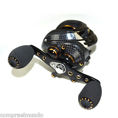 Shishamo GT 7.0:1 Left Hand Fishing Bait Casting Reel with One Way Clutch