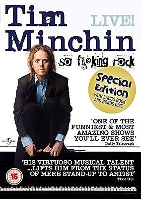 Tim Minchin So F**king Rock LIVE DVD Stand-Up Comedy UK Release New Sealed R2