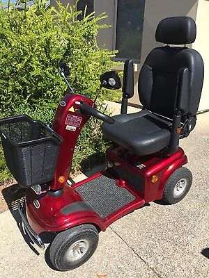 Mobility scooter Shoprider TE9 with brand new transaxial assembly