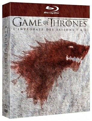 Game of thrones saison 1 et 2 intégrale COFFRET BLU-RAY NEUF SOUS BLISTER