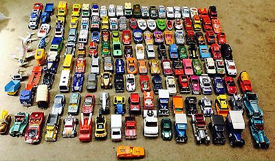 140 X Vintage Matchbox Cars/trucks/boats/lorry's/planes/police Attic  Toys