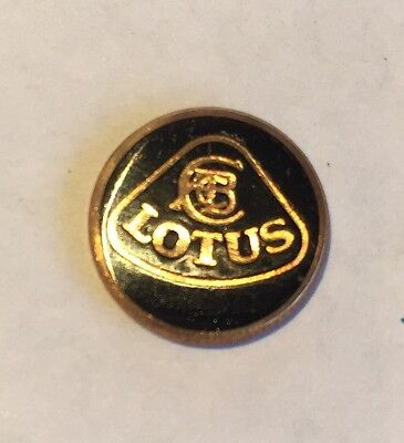 Vintage Enamel & Brass Lotus Badge/ Plaque.