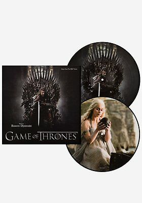 GAME OF THRONES SEASON 1 ~ NUMBERED LTD. ED. 2 x VINYL PICTURE DISC LP ~ *NEW*