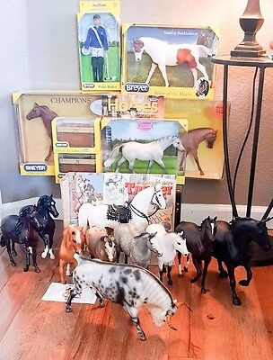 Breyer Traditional, Classic, BF Bull LOT