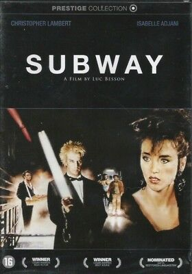 Subway Luc besson DVD NEUF SOUS BLISTER