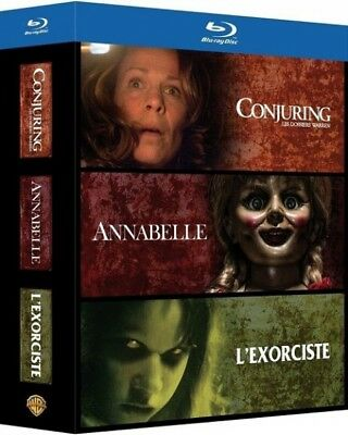 Conjuring Annabelle L'exorciste COFFRET BLU-RAY NEUF SOUS BLISTER