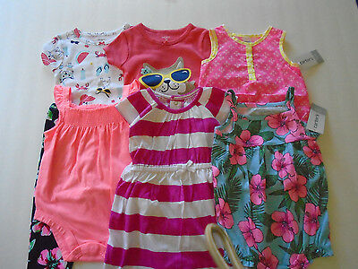 New 10 Pc. Lot Of Baby Girl Clothes 12 Months Nwt $104
