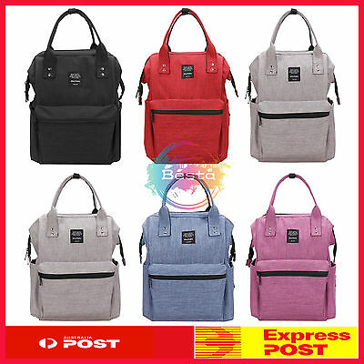 Mummy Diaper Bag Nappy Backpack Bags Baby Newborn Tote Shoulder Bag *Au Stock*