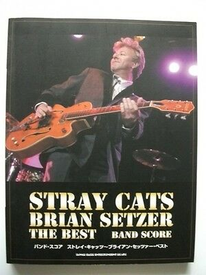 Stray Cats Brian Setzer THE BEST JAPAN BAND SCORE GUITAR TAB