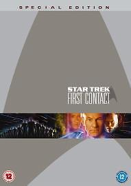 Star Trek First Contact Special Edition DVD Patrick Stewart UK Rel New Sealed R2