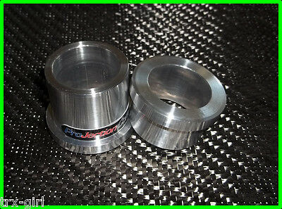 Kawasaki ZX6R front wheel into ZX7R forks spacer kit