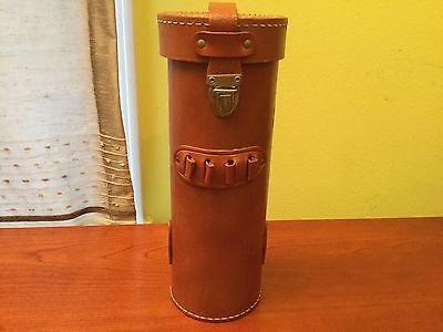 VTG National Dynamics Corp. Fire Extinguisher Leather Case **CASE ONLY**