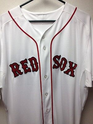 Boston Red Sox #42 Jackie Robinson Day Game Used Jersey Mlb Authentication