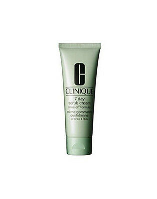 Clinique 7 Day Scrub Cream Rinse-Off Formul a for all Skin Types 100ml