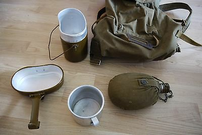 GENUINE USSR Soviet Veschmeshok Russian Army Military Backpack