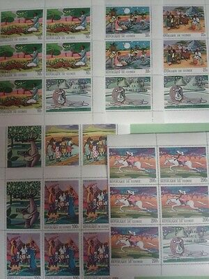 GUINEE Conakry collection contes legendes africaines neuf MNH