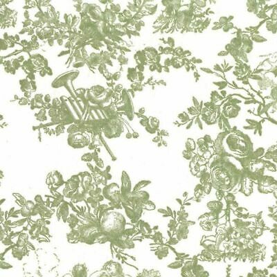 """Classic Toile Printed Tissue Paper 20 x 30"""" 500 x 750mm 18gsm"""