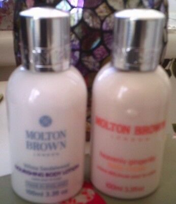 Molton Brown 2 x 100ml Body Lotion - Sandalwood & Gingerlily