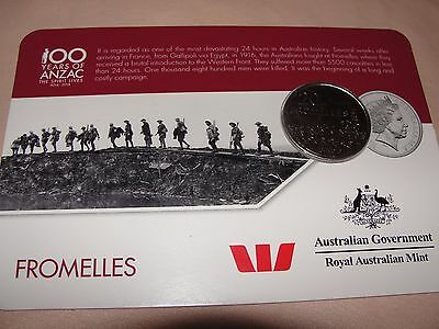 100 Years Of Anzac - Fromelles - Royal Australian Mint - Collector Coin