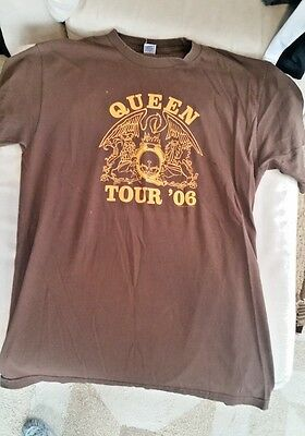 Queen Tour 2006 Concert T-shirt Size Large Paul Rodgers
