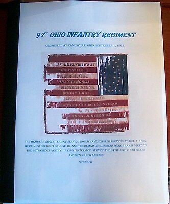 Civil War History of the 97th Ohio Infantry Regiment