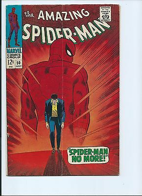 Amazing Spider-Man 50 - Vg/f 5.0 - 1St Appearance Of The Kingpin (1967)