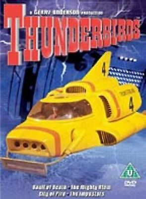 Thunderbirds Volume 4 DVD Sylvia Anderson Peter Dyneley UK Release New Sealed R2