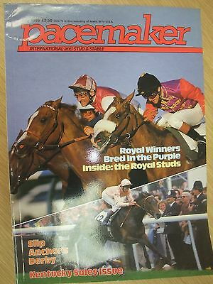 Pacemaker International Magazine July 1985 Horse Racing