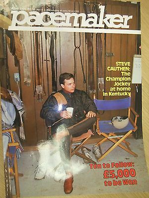 Pacemaker International Magazine April 1985 Horse Racing