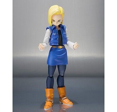 S.H. Figuarts Dragon Ball Z ANDROID 18 Action Figure BANDAI Action Figure