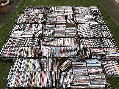 One Thousand DVD's (Job Lot) For Collection