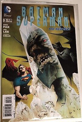 Batman Superman 3 DC Comics New 52