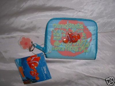 Disney Store Finding Nemo Blue Purse NEW!
