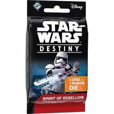 Star Wars Destiny Spirit of Rebellion Rare Card & Dice - Select From List