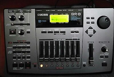 BOSS BR-8 Digital Multi-track Recorder Made in Japan GUC